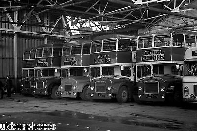 Midland General Bristol FLF's Alfreton Depot 1973 Bus Photo
