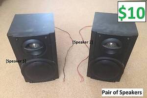 Pair of Speakers Windsor Gardens Port Adelaide Area Preview