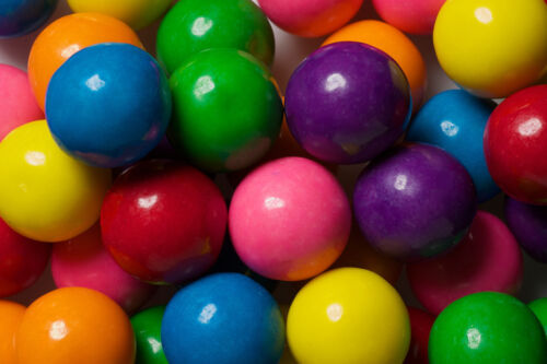 """Large Dubble Bubble Gum Balls 1"""" Around .25 Cents Ea  300ct"""