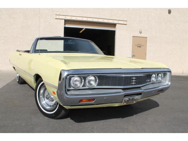 Image 1 of Chrysler: Newport Yellow…