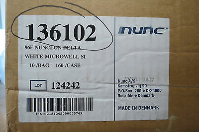 Nunc 96-well Fb Microplate Ps W Lid Nunclon Cell Culture Qty 150 136102