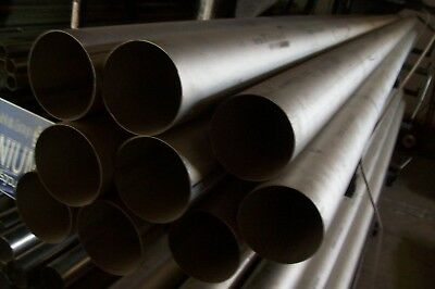 Grade 2 Cp Titanium Tube 3.5 Od 0.025 Wall 8.5 Length 854