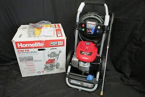 homelite honda  psi   gpm gas pressure washer ebay