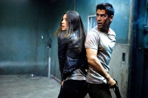 Total Recall (2012) - Jessica Biel - Hero Movie Screen Worn Full Costumes / COA