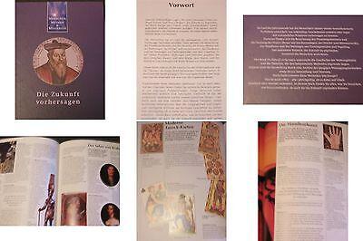 Menschen,Mythen-Mysterien Buch von 1992-Die Zukunft vorhersagen-Bildband