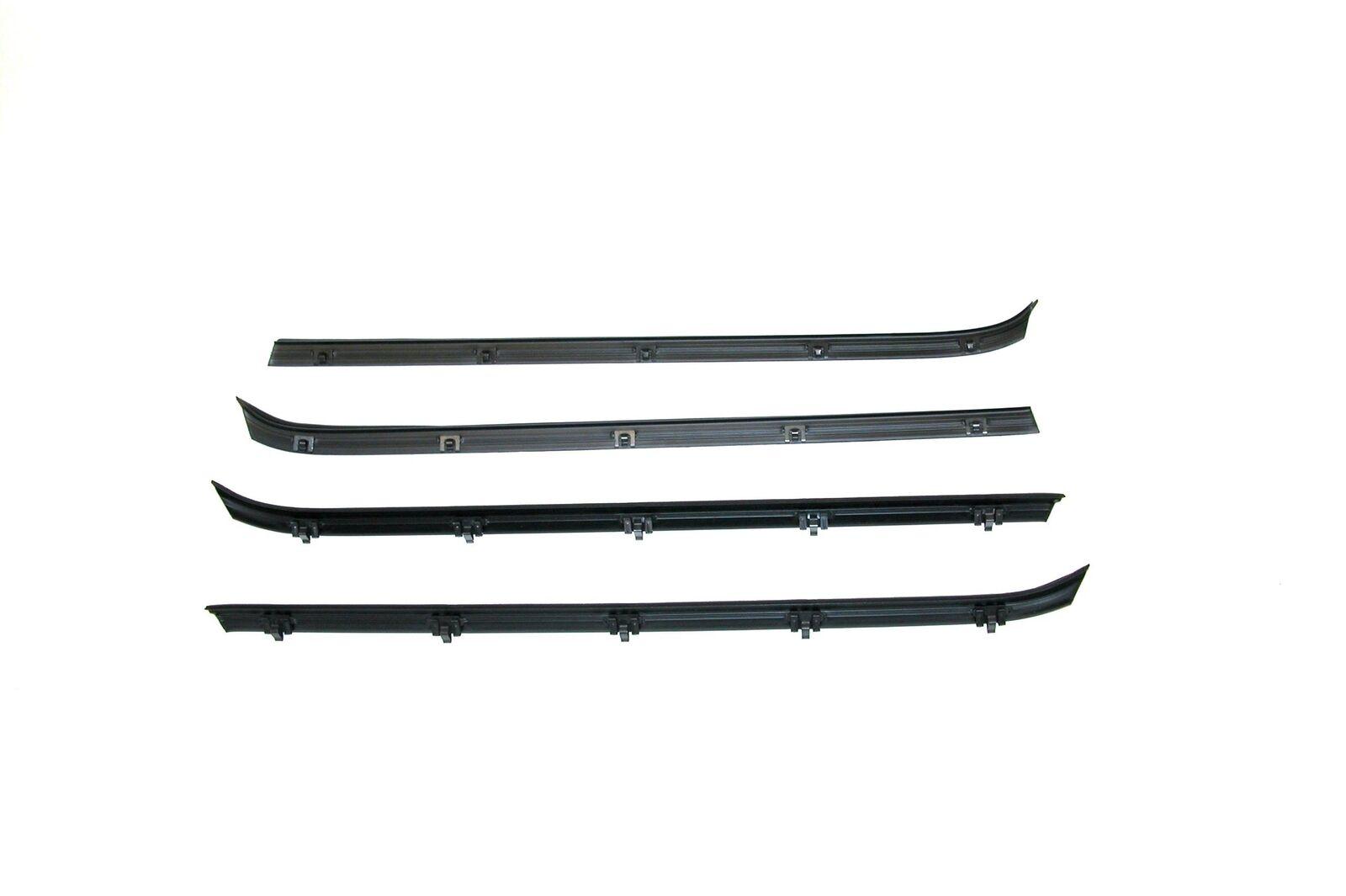 73-80 C//K Truck Window Felt Channel Belt Rubber Weatherstrip Door Seal 8 pc Kit