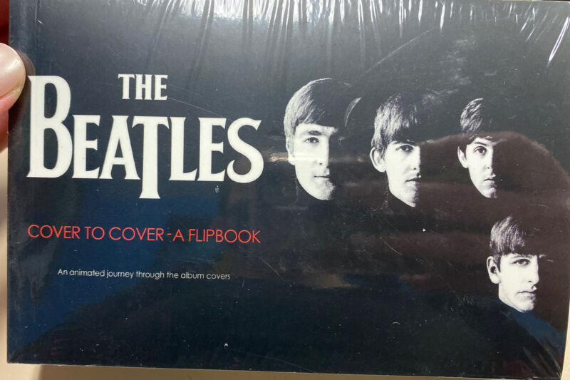 Beatles Cover To Cover A Flipbook Album Cover