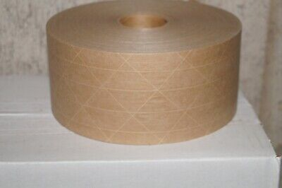 Kraft Gummed Paper Tape 70 Mm X 500 Reinforced Packaging Packing Tapes 6 Rolls