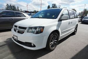 2017 Dodge Grand Caravan GT, LEATHER INTERIOR, ALLOY WHEELS!