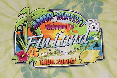 JIMMY BUFFETT Ladies Concert T-shirt Welcome To FinLand New Medium