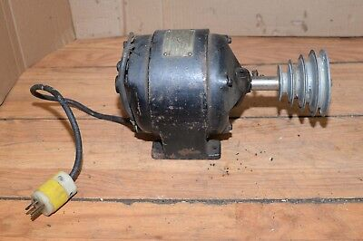 Antique Westinghouse 14 Hp Motor 1725 Rpm Watchmaker Lathe Tool Collectible