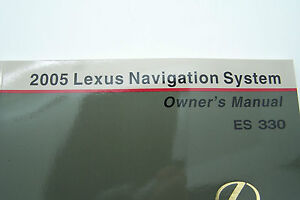 2005 lexus es330 owners manual ebay. Black Bedroom Furniture Sets. Home Design Ideas