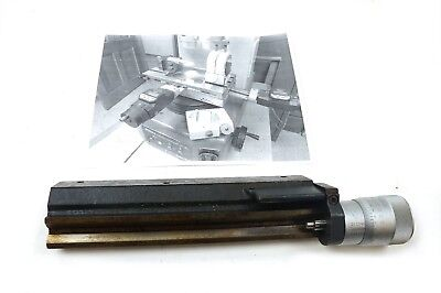 Kodak Optical Comparator Stage Micrometer .0001 15 Nikkon Profile Projectors