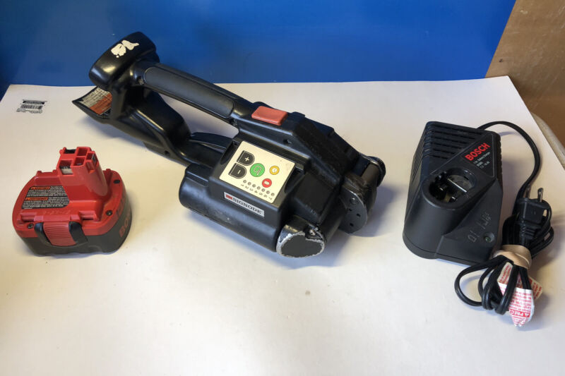 Signode BXT Battery Powered Bander - strapping tool