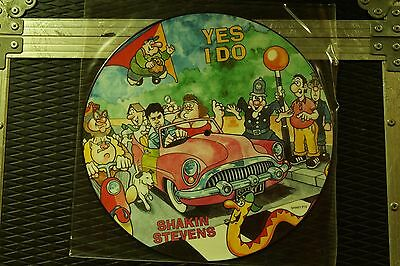 "Shakin' Stevens ‎– Yes I Do  Vinyl, 12"", Picture Disc rock'n'roll  NEW"
