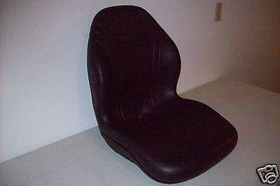 BLACK SEAT 240,250,313,315,317,320,325,328,332,CT315 JOHN DEERE SKID STEER #BB