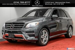 2014 Mercedes-Benz M-Class ML350 4MATIC DIESEL **11 000$ D'OPTIO