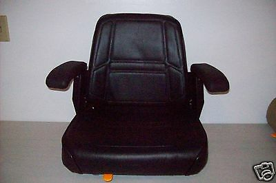 BLACK SEAT W/ ARM RESTS CUB CADET,DIXON,JOHN DEERE ZERO TURN LAWN MOWERS ZTR #KX for sale  Shipping to Canada
