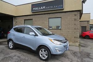 2011 Hyundai Tucson GLS Blk Leather Interior, Bluetooth, Heat...