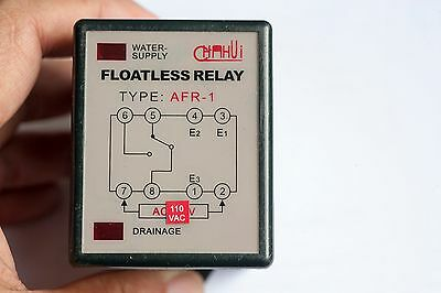Water Fluid Level Controller Relay 110v Pf083a Base Included Usa Shipping