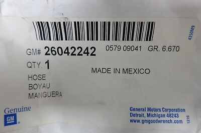 NOS Power Steering Line Hose - Cadillac DeVille Eldorado Seville - P/N 26042242 Cadillac Seville Power Steering