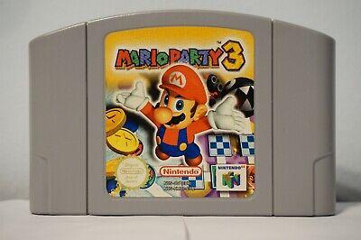 Mario Party 3 N64 Nintendo 64 spiel European Version genuine PAL cartridge 2001