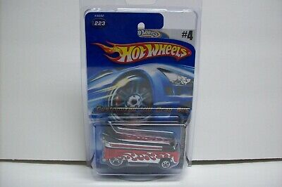 Hot Wheels MYSTERY CAR # 5 of 5 Customized Volkswagen VW Drag Bus, MIP, 2006!
