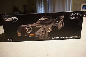 Hotwheels Elite 1/18 Batman Returns Diecast Model Glenfield Campbelltown Area Preview