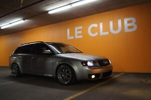 Audi a4 2003 wagon familliale quattro gt28 big turbo, DEAl!!!