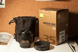 35mm 1.8G DX Nikon Nikkor Prime Lens+ 1yr Genuine Nikon Insurance Newcastle Newcastle Area Preview