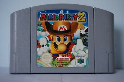 Mario Party 2 Nintendo 64 N64 spiel European Version EUR original 2000 PAL clean