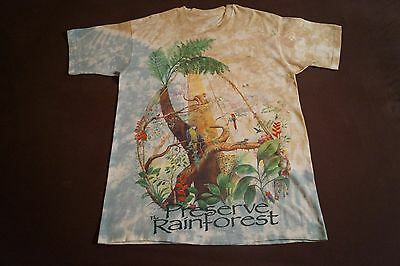 PRESERVE THE RAINFOREST T-Shirt Size Large  for sale  Shipping to Nigeria