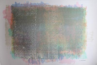 PRUDENCIO IRAZABAL - Genetic Pool. Handsignierte und nummerierte Lithografie.