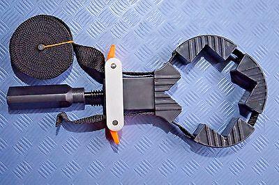 4 m Rahmenspanner + 4 Spannecken Bandspanner Bandzwinge Verleimhilfe Spannhilfe