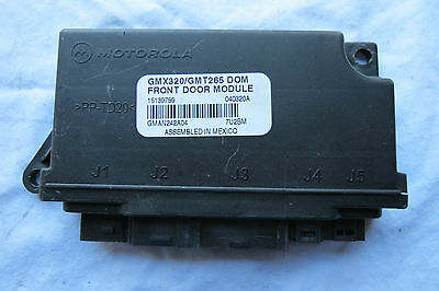 READ FIRST 2004 Cadillac CTS FRONT Door Left DRIVER Side Control Module OEM