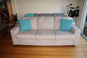 Plush 3 seater sofa - Excellent condition Albert Park Port Phillip Preview