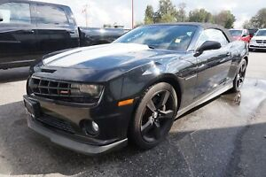 2011 Chevrolet Camaro SS- LEATHER + CONVERTIBLE!!