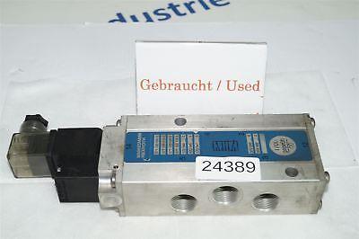 Mannesmann Rexroth 571 100 000 0 Solenoid Valve 5711000000