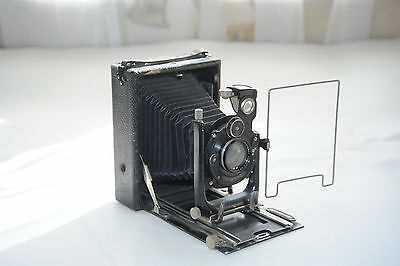 Antike Plattenkamera,