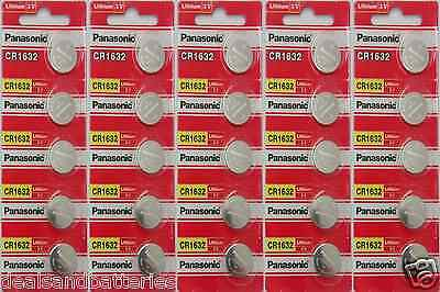 Panasonic Cr1632 Lithium Button Battery For Watches And S...