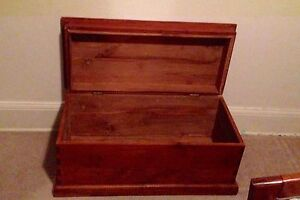 Wooden chest Camberwell Boroondara Area Preview