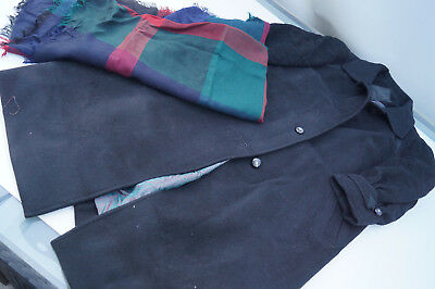 Kämer Ladies Cashmere & Wool Winter Jacket Coat Parka Woollen Coat Gr.44 Black
