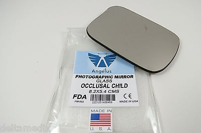 Dental Oral Orthodontic Mirror Reflector Photographic Glass Occlusal Child