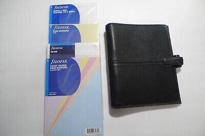 Filofax- A5 Finchley Leather Planner- Pebbled Leather- With Unopened Inserts