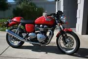 Triumph Thruxton motorcycle Aldinga Beach Morphett Vale Area Preview