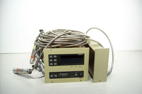 Varian U8000 Universal Ion Pump Controller With 03646911 and 4 Cables