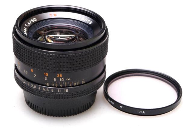 Carl Zeiss Planar T* 50mm F/1.4 AE f. Contax