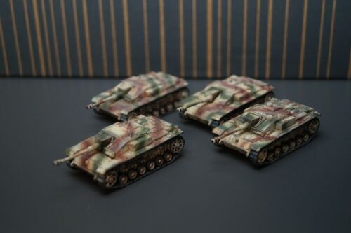 Painted Stug III German Assault guns 15mm wargame miniature WW2