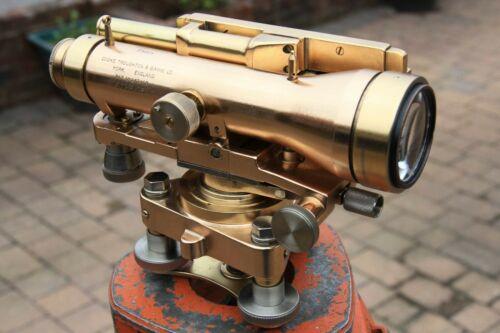 Vintage, Surveyors Theodolite, Level, CTS Surveying Instrument Vintage Antique.