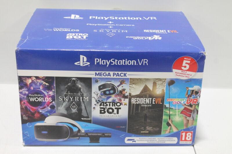 Playstation PS4 VR Mega Pack - UK Verison (locked to UK)